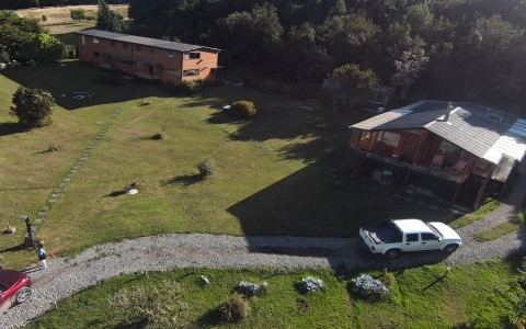 Venta en Puerto Montt | Cabaña y Casona  a puerta cerrada para Hostel en Pichiquillaipe en 251 | Cabaña y Casona  a puerta cerrada para Hostel en Pichiquillaipe