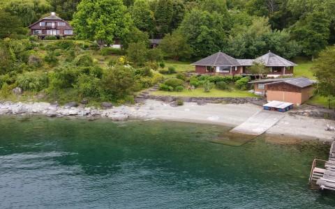 De temporada en Lago Ranco   Espectacular casa en arriendo de temporada a orillas del Lago Ranco en 243   Espectacular casa en arriendo de temporada a orillas del Lago Ranco