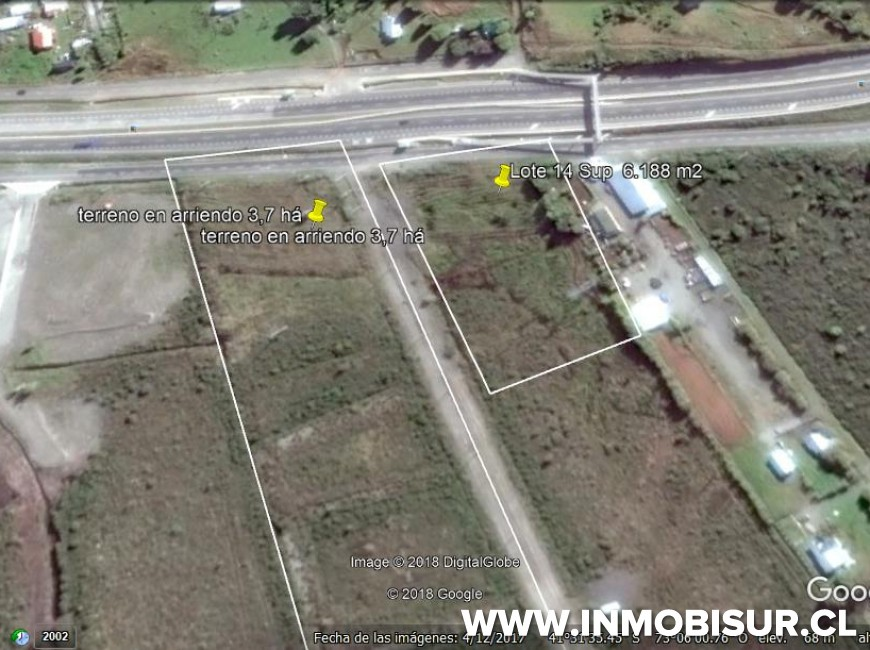 Arriendo en Puerto Montt | Terreno arriendo Camino a Pargua en 251 | Terreno arriendo Camino a Pargua
