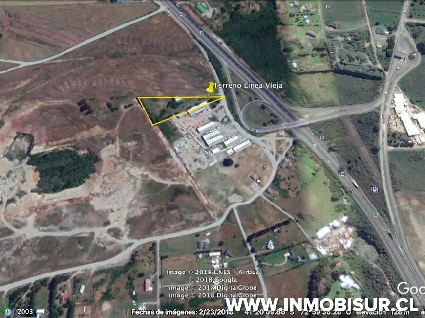 Arriendo en Puerto Varas | Terreno con casa para arriendo comercial sector Linea Vieja en 252 | Terreno con casa para arriendo comercial sector Linea Vieja