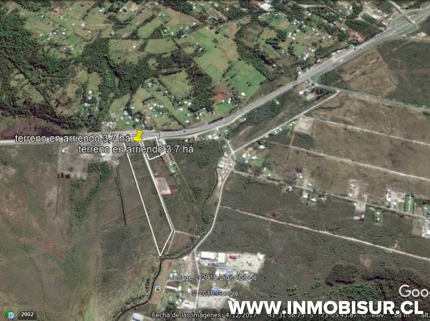 Arriendo en Puerto Montt | Terreno industrial sector Trapén en 251 | Terreno industrial sector Trapén